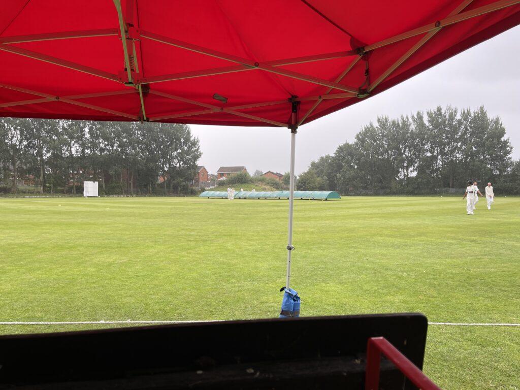 Stalybridge CC 2nd XI vs Buxworth CC 2nd XI - Rain Stops Play